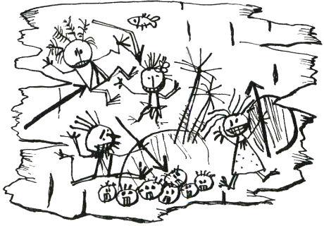 что Таффи нарисовала