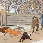 Крылов - Прохожие и собаки