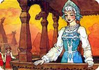 Заколдованная королевна