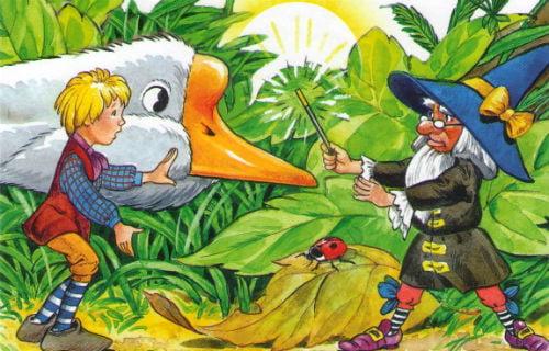 Аудиосказка Чудесное путешествие Нильса с дикими гусями