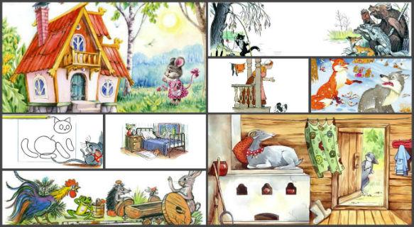 Сказки для детей 2-3 лет