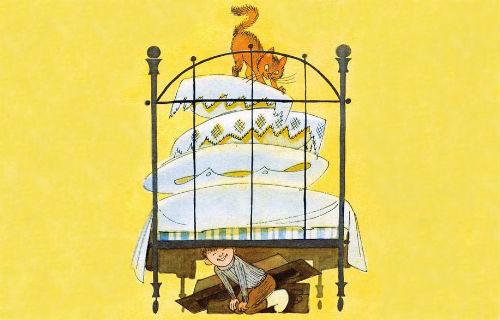 Двадцать лет под кроватью читать