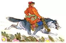 Иван-царевич и волк