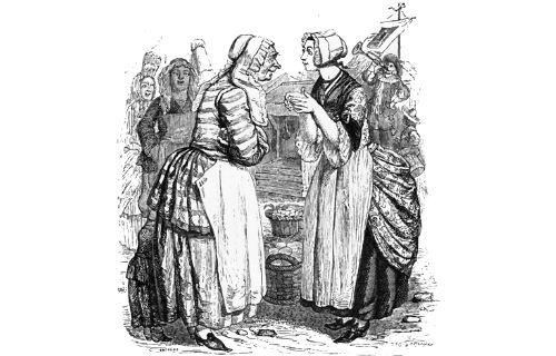 Басня Женщины и секрет
