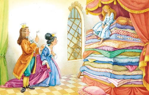 Принцесса на горошине андерсон сказка