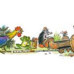 Сказка Разные колёса