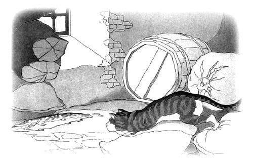 Крылов - Щука и кот