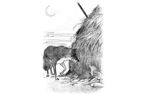 Крылов Волк и Лисица